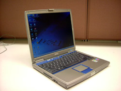 My Dell Inspiron 600M - click to enlarge (109 kb).
